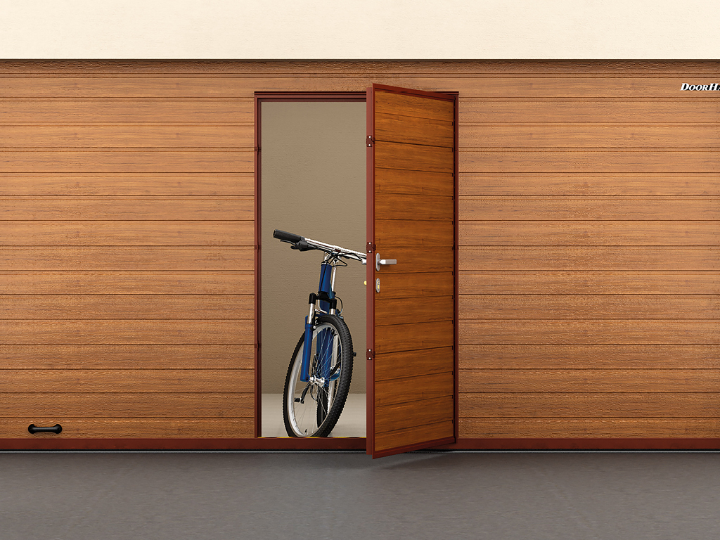 Калитка встроенная DoorHan для секционных ворот
