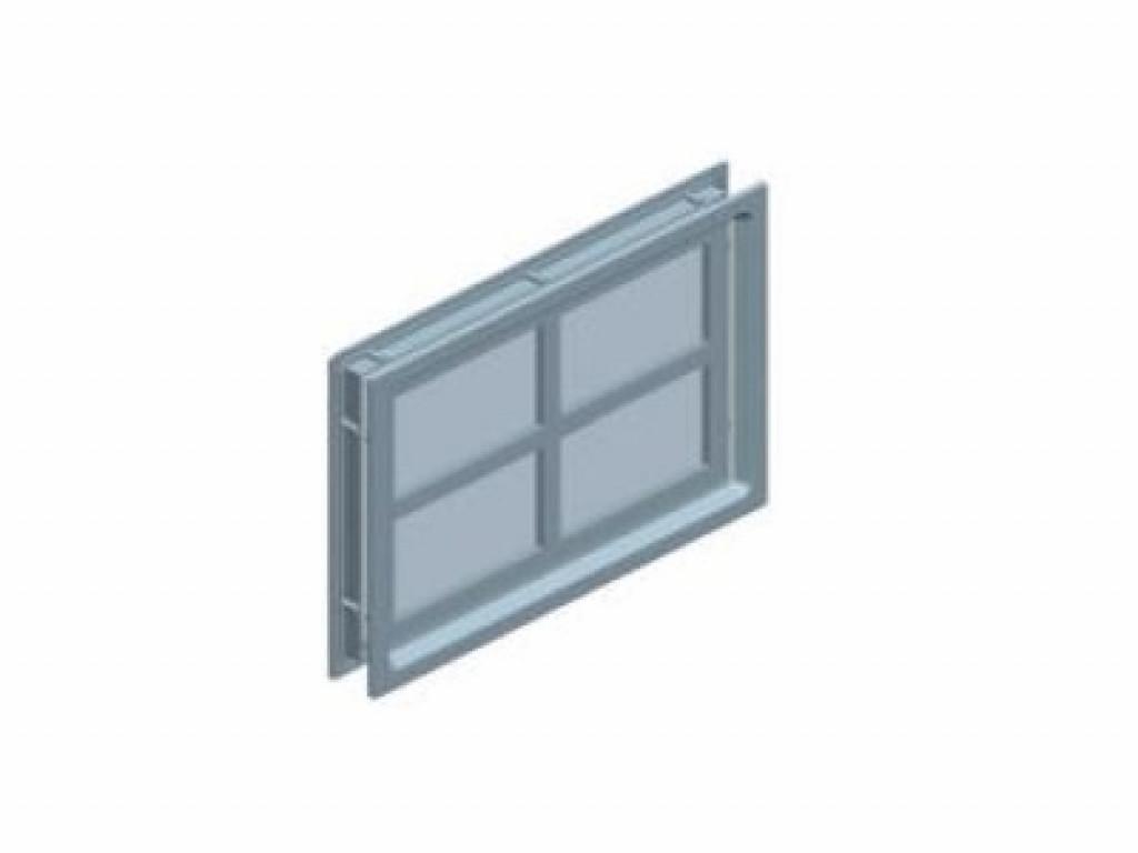 Окно Alutech Cross W041