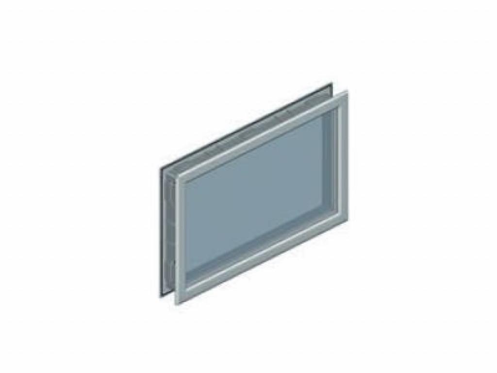 Окно Alutech W043WH