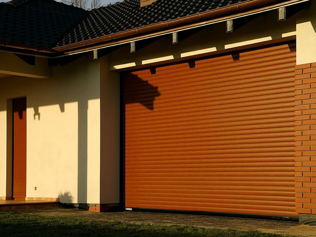 Роллетные ворота Alutech Trend 4000х2500 мм