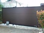 Откатные ворота Alutech Prestige S 4000х2000 мм