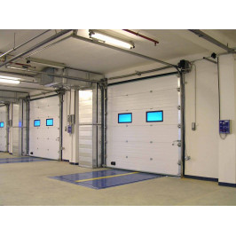 Секционные ворота Alutech ProPlus 2500х3000 мм