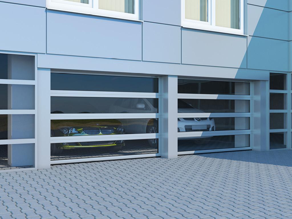 Промышленные секционные ворота DoorHan ISD02