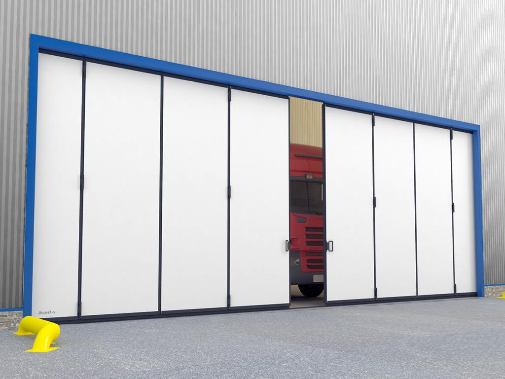 Промышленные откатные ворота DoorHan