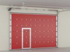 Секционные противопожарные ворота DoorHan
