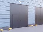 Распашные гаражные ворота DoorHan