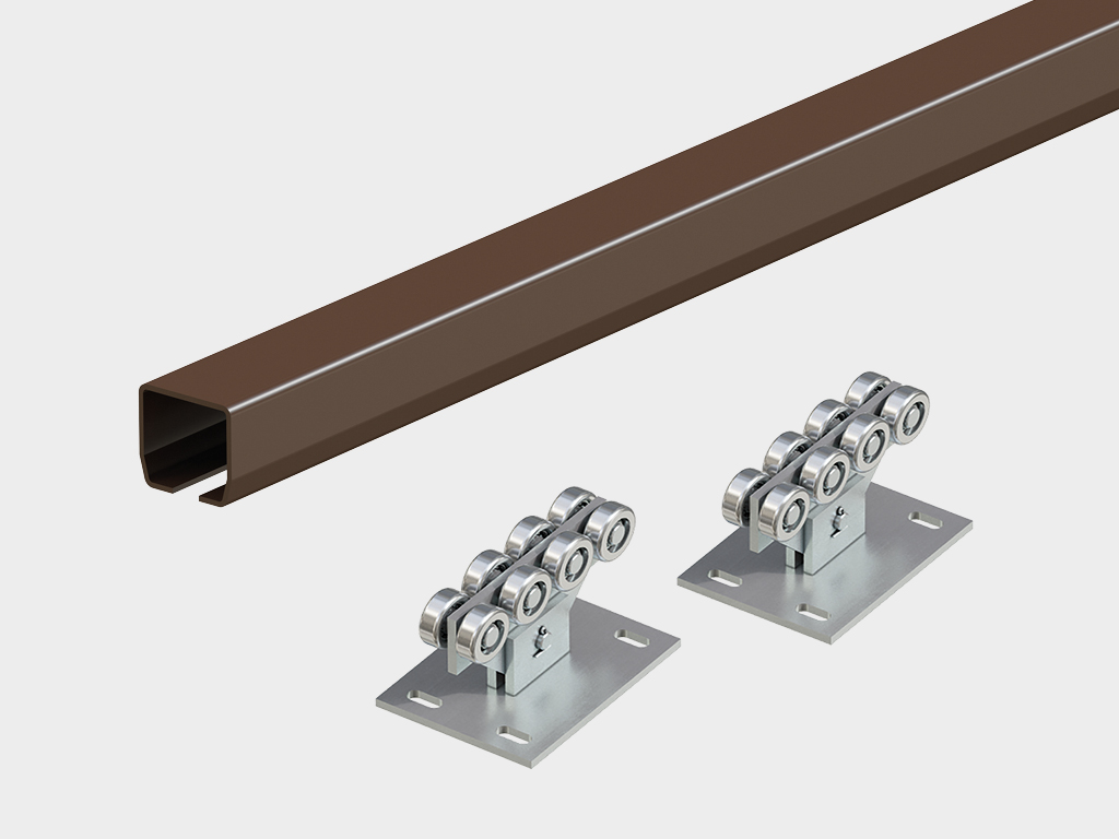 Откатные ворота DoorHan Revolution SLS 4500х2200 мм
