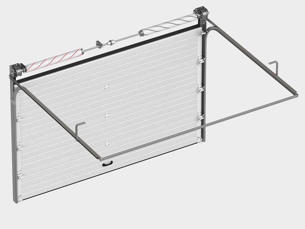 Гаражные секционные ворота DoorHan RSD01SC 2750x2390 мм