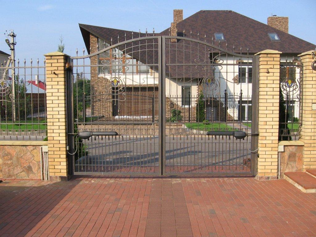 Распашные ворота ВоротаАвто RAK-Option