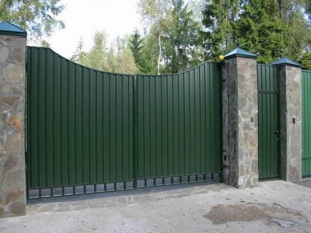 Распашные ворота ВоротаАвто RAP-Standart 3500х2000 мм
