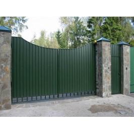 Распашные ворота ВоротаАвто RAP-Standart 3000х2000 мм