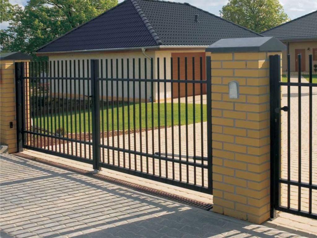 Распашные ворота ВоротаАвто RAR-Standart 3500х2500 мм