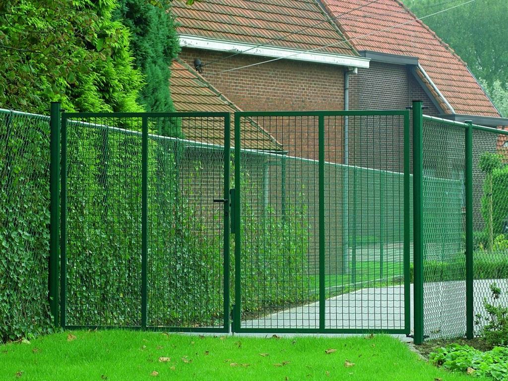 Распашные ворота ВоротаАвто RAS-Standart 3000х3000 мм